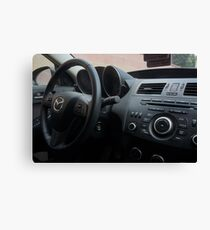 Mazdaspeed 3 Steering Wheel Canvas Print
