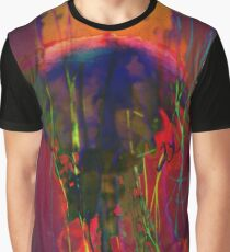 4777 Jellyfish and tentacles  Graphic T-Shirt