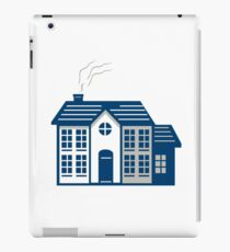 American Traditional House Isolated Retro iPad Case/Skin