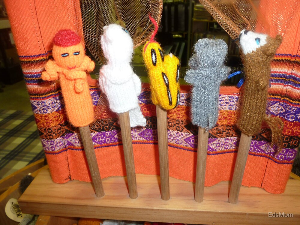 *Finger Puppets - Creswick Knitting Mills* by EdsMum