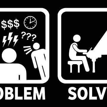Problem gelöst mit lustigem Klavier-Hemd von BeyondEvolved