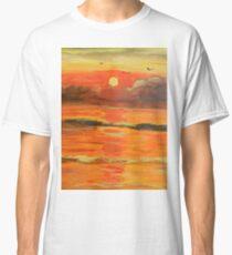 Sunrise over the Ocean Classic T-Shirt