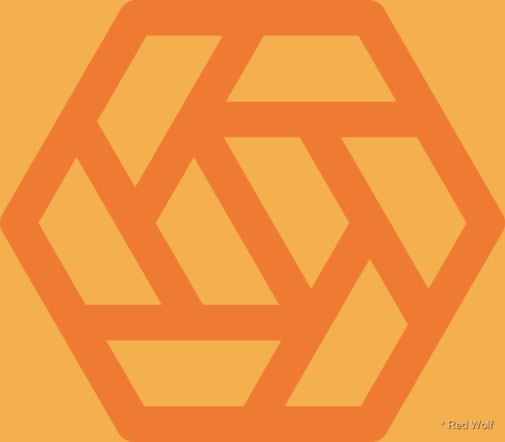 Geometric Pattern: Aperture: Citrus by * Red Wolf