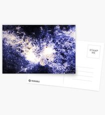 When Galaxies Collide (Sodalite) Postcards