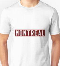 Montreal Maroons 1924-25 Defunct Hockey Team Unisex T-Shirt