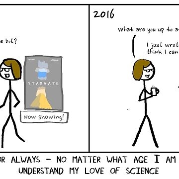 Thanks mum for understanding science by ErrantScience