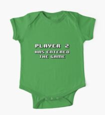 Player Two Has Entered the Game One Piece - Short Sleeve