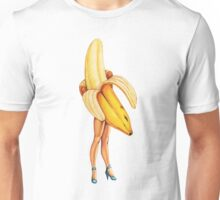 Fruit Stand - Banana Girl Unisex T-Shirt