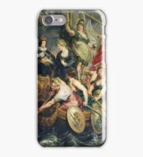 Peter Paul Rubens - The Majority Of Louis Xiii. Woman portrait:  Ship, Sea, Women, Historical Clothing, Breast, Goddess, King, Travel, Faith, Strength, Way iPhone Case/Skin