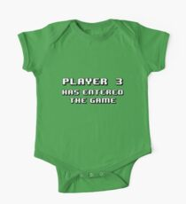 Player Three Has Entered the Game One Piece - Short Sleeve