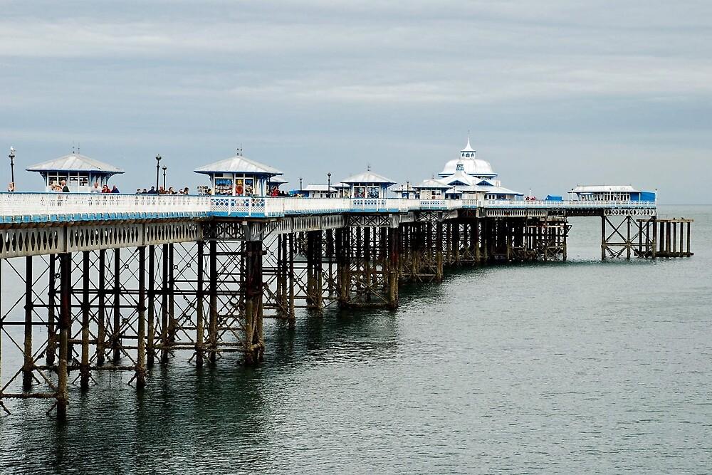 The pier of Llandudno - Wales by Arie Koene