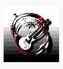 Music - Guitar Photographic Print