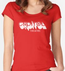 Capitol Theatre (white) Women's Fitted Scoop T-Shirt