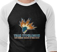 Team Typhlosion  Men's Baseball ¾ T-Shirt