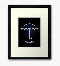Gotham Oswald's night club Framed Print
