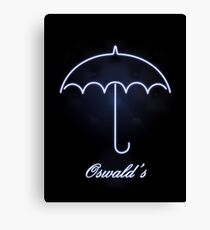 Gotham Oswald's night club Canvas Print