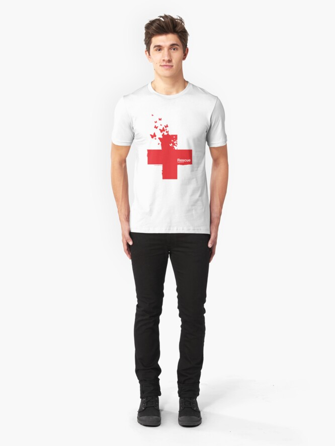 Alternate view of Rescue /// Slim Fit T-Shirt
