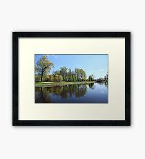 Scenic spring landscape  Framed Print
