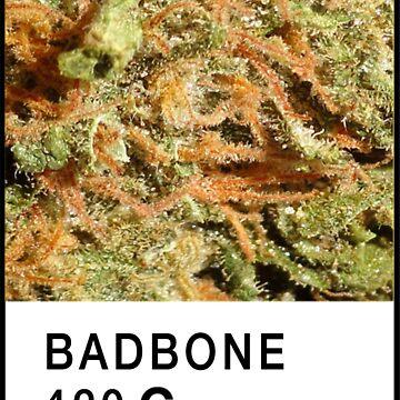 Bad Bone (Pantone) Weed 420 by bexsimone