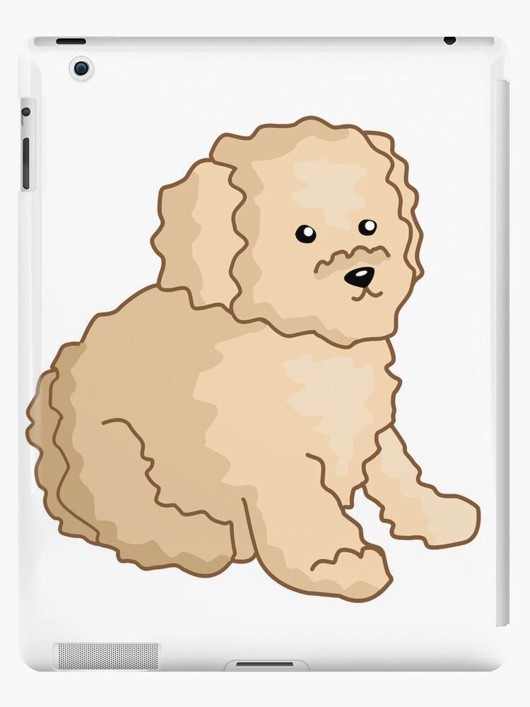 Toy Poodle Illustration\