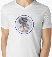 Fury mushroom Men's V-Neck T-Shirt