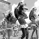 Samba Dancers On Parade by SuddenJim