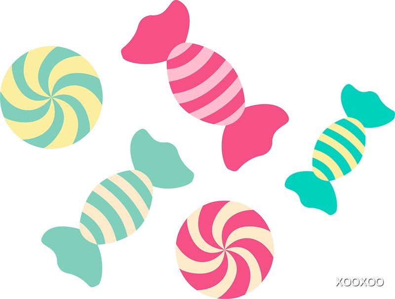 Cute candy stripes stickers by xooxoo redbubble cute candy stripes by xooxoo sciox Gallery