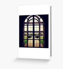 Window, Sudbury Hall Greeting Card