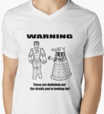 These are NOT the droids you are looking for! Men's V-Neck T-Shirt