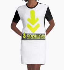 Download Life  Graphic T-Shirt Dress