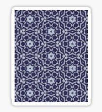 Knitted Tiles Pattern Sticker