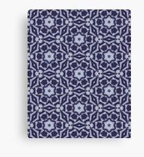 Knitted Tiles Pattern Canvas Print