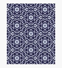 Knitted Tiles Pattern Photographic Print