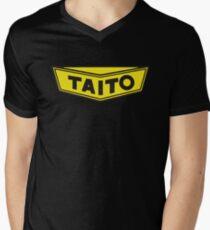 TAITO ARCADE GAMES CORPORATION Mens V-Neck T-Shirt