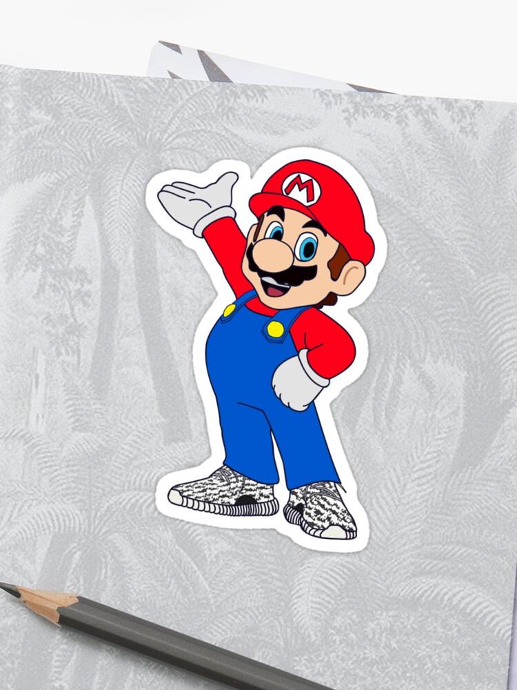 d0bc258d3 Super Mario Wearing Yeezy Boost 350