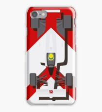 AYRTON SENNA MCLAREN MP4/4 1988 (1) iPhone Case/Skin