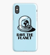 World Snow Globe - Save the Planet iPhone Case
