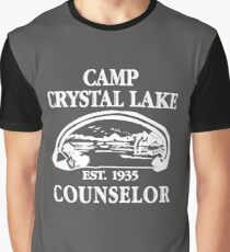 Camp Crystal Lake Counselor copy Graphic T-Shirt
