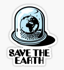 World Snow Globe - Save the Earth Sticker