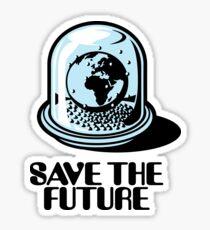 World Snow Globe - Save the Future Sticker