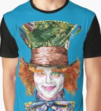 The Mad Hatter (Van Gogh Style) Graphic T-Shirt