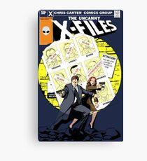 The Uncanny X-Files Canvas Print