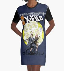 The Uncanny X-Files Graphic T-Shirt Dress