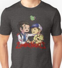 But Oh, Those Zombie Nights Unisex T-Shirt