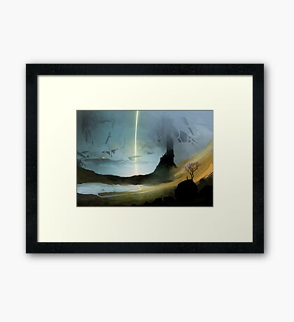 GSV Surface Framed Print