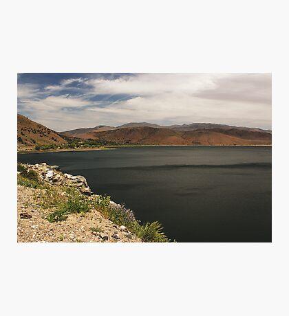 Topaz Lake Overlook Photographic Print