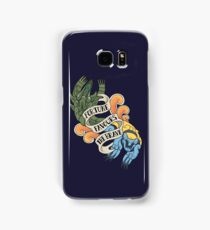 fortune favours the brave Samsung Galaxy Case/Skin
