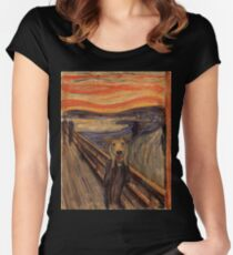 The Woof Women's Fitted Scoop T-Shirt