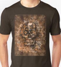 floral skull 3 Unisex T-Shirt