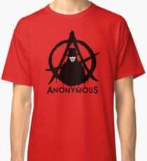 Anonymous Vendetta Classic T-Shirt
